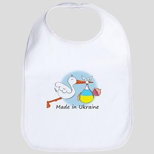 Stork Baby Ukraine Bib