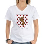 Madigan's Women's V-Neck T-Shirt