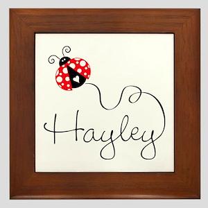 Ladybug Hayley Framed Tile