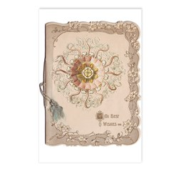 Best Wishes Postcards (Package of 8)