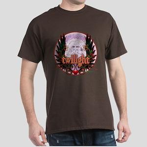 Twilight Santa Winged Crest Wreath Dark T-Shirt