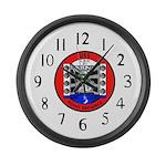 USS Point Defiance (LSD 31) Large Wall Clock