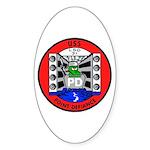 USS Point Defiance (LSD 31) Oval Sticker (10 pk)