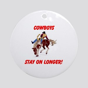 COWBOYS Ornament (Round)
