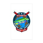 USS Clarion River (LSMR 409) Rectangle Sticker 10