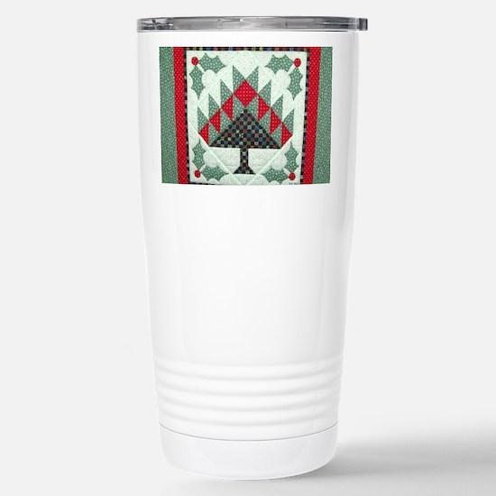 Holiday Stainless Steel Travel Mug