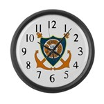 USS Terrell County (LST 1157) Large Wall Clock