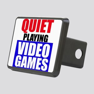 Quiet Playing Video Games Hitch Cover