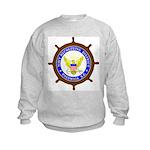 US Navy Recruiting District C Kids Sweatshirt