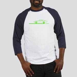 1968-70 Charger Lime Car Baseball Jersey