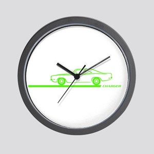 1968-70 Charger Lime Car Wall Clock