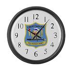 USS Patrick Henry (SSBN 599) Large Wall Clock