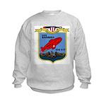 USS Barbero (SSG 317) Kids Sweatshirt