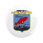 """USS Barbero (SSG 317) 3.5"""" Button (100 pack)"""