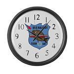 USS Halibut (SSGN 587) Large Wall Clock