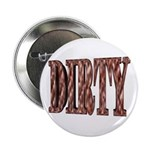Dirty 3-D Brown Button