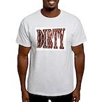 Dirty 3-D Brown Ash Grey T-Shirt