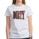 Dirty 3-D Brown Women's T-Shirt