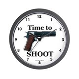Gun Wall Clocks