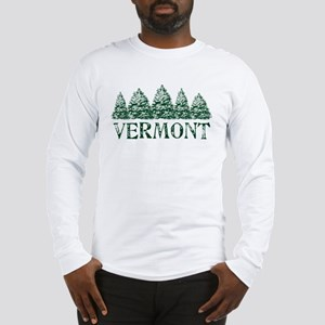 VT Winter Evergreens Long Sleeve T-Shirt