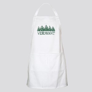 VT Winter Evergreens Apron