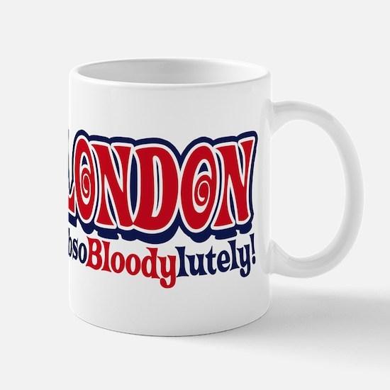 London Double-Decker Flag Mug