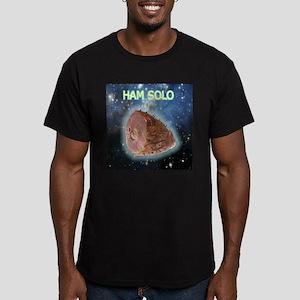 Ham Solo Men's Fitted T-Shirt (dark)