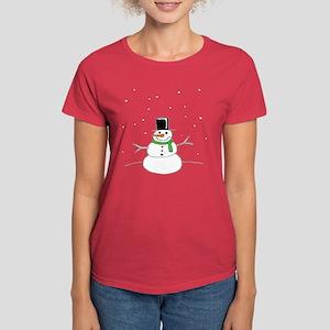 Snowman Women's Dark T-Shirt