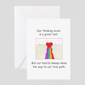 Rainbow Heart Gifts Greeting Card