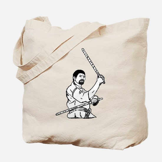 Stick Warrior Tote Bag