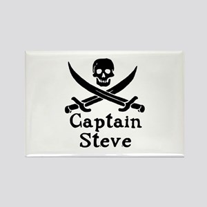 Captain Steve Rectangle Magnet