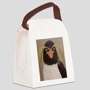 Rockhopper Penguin Canvas Lunch Bag