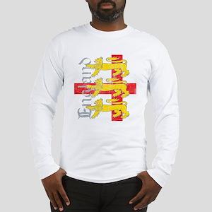 Antiqued 3 Lions Long Sleeve T-Shirt