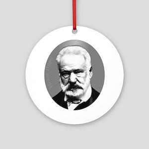 Victor Hugo Ornament (Round)