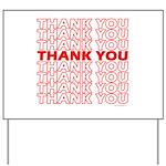 Thank You Yard Sign