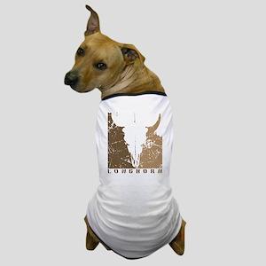 Longhorn Graphic Dog T-Shirt