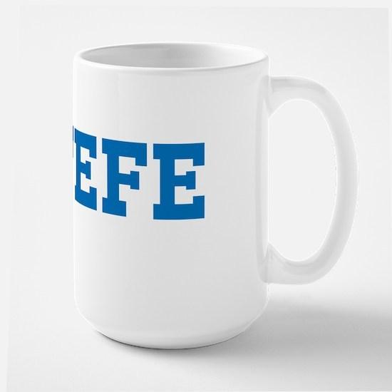 El Jefe Large Mug (the Boss) Mugs