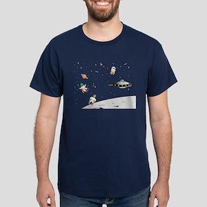 alien invasion Dark T-Shirt