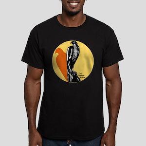 Maltese Falcon Men's Fitted T-Shirt (dark)