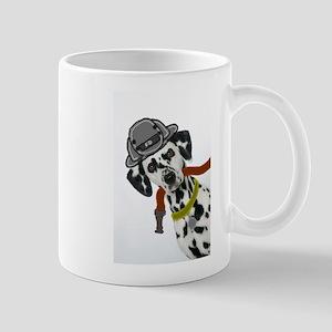 Dalmatian Firefighter Mug