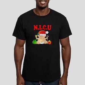N.I.C.U. Men's Fitted T-Shirt (dark)