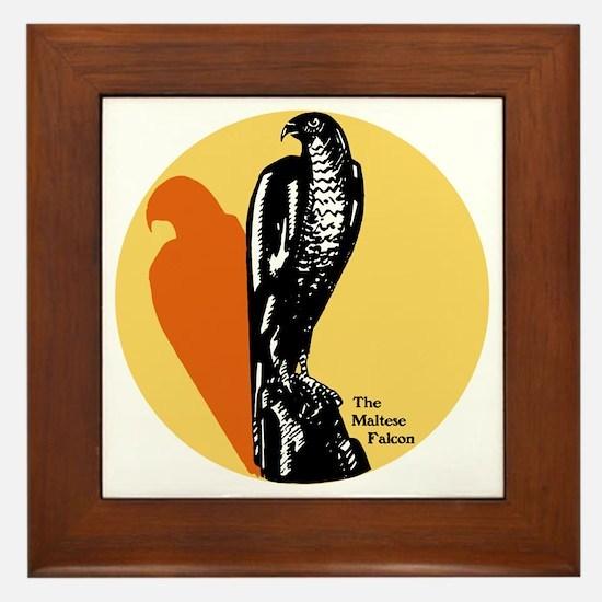 Maltese Falcon Framed Tile