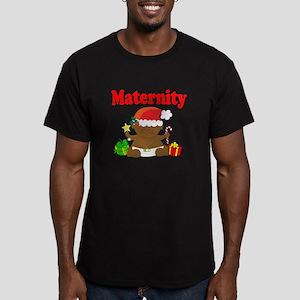 Maternity Men's Fitted T-Shirt (dark)