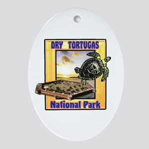 Dry Tortugas National Park Oval Ornament