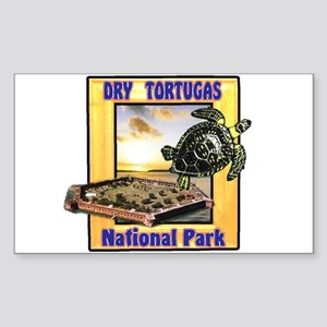 Dry Tortugas National Park Rectangle Sticker