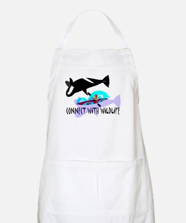Connect With Wildlife Apron