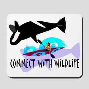Connect With Wildlife Mousepad