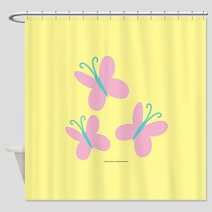 MLP Fluttershy Cutie Mark Shower Curtain