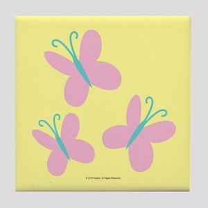 MLP Fluttershy Cutie Mark Tile Coaster