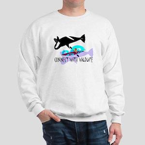 Connect With Wildlife Sweatshirt